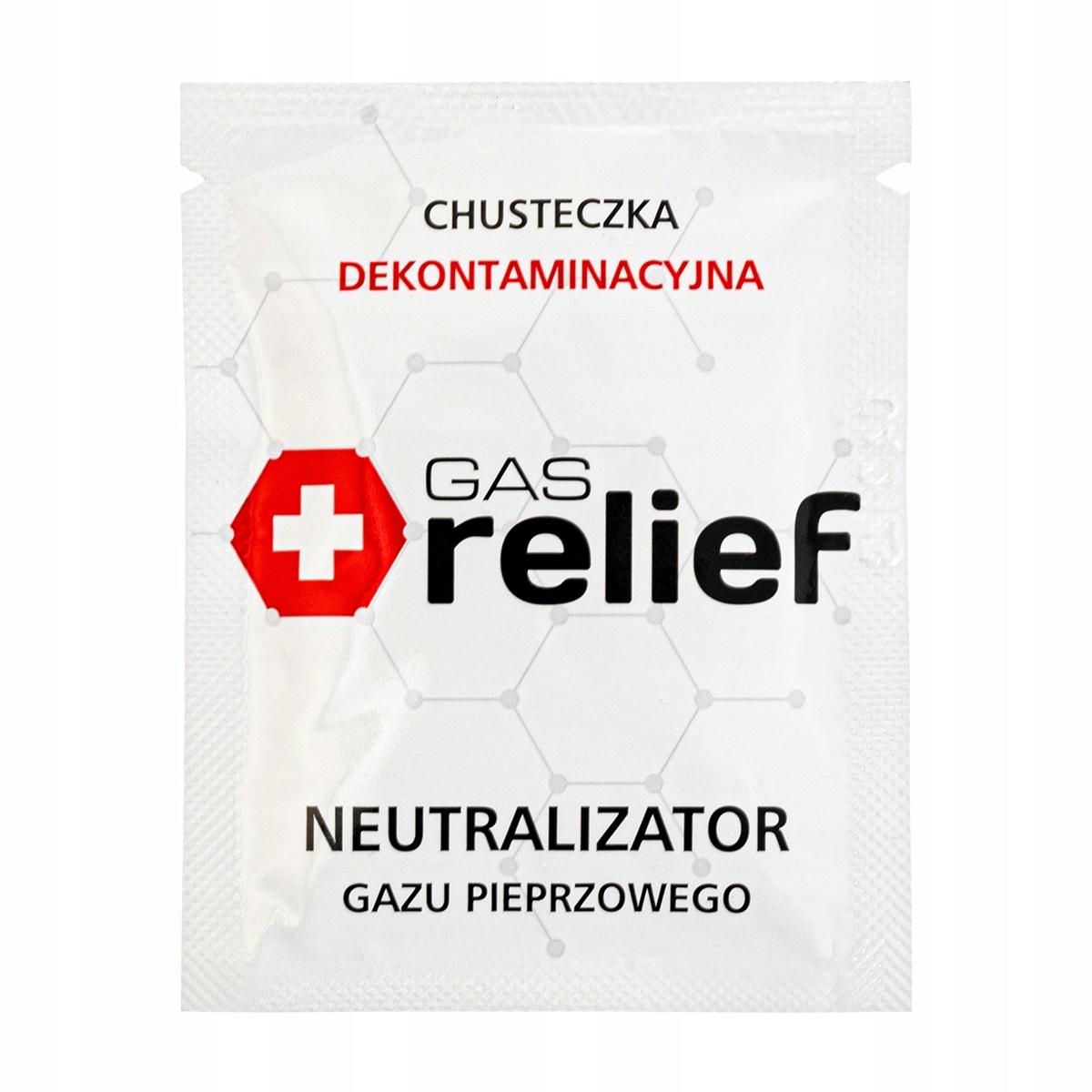 Chusteczka neutralizująca gaz pieprzowy Gas Relief