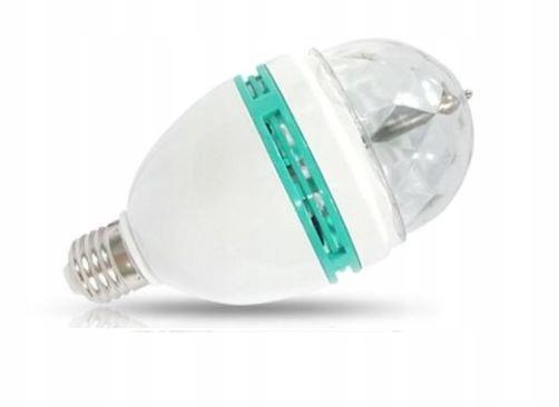 Item LAMP PROJECTOR DISCO BAR BALL LED BULB RGB