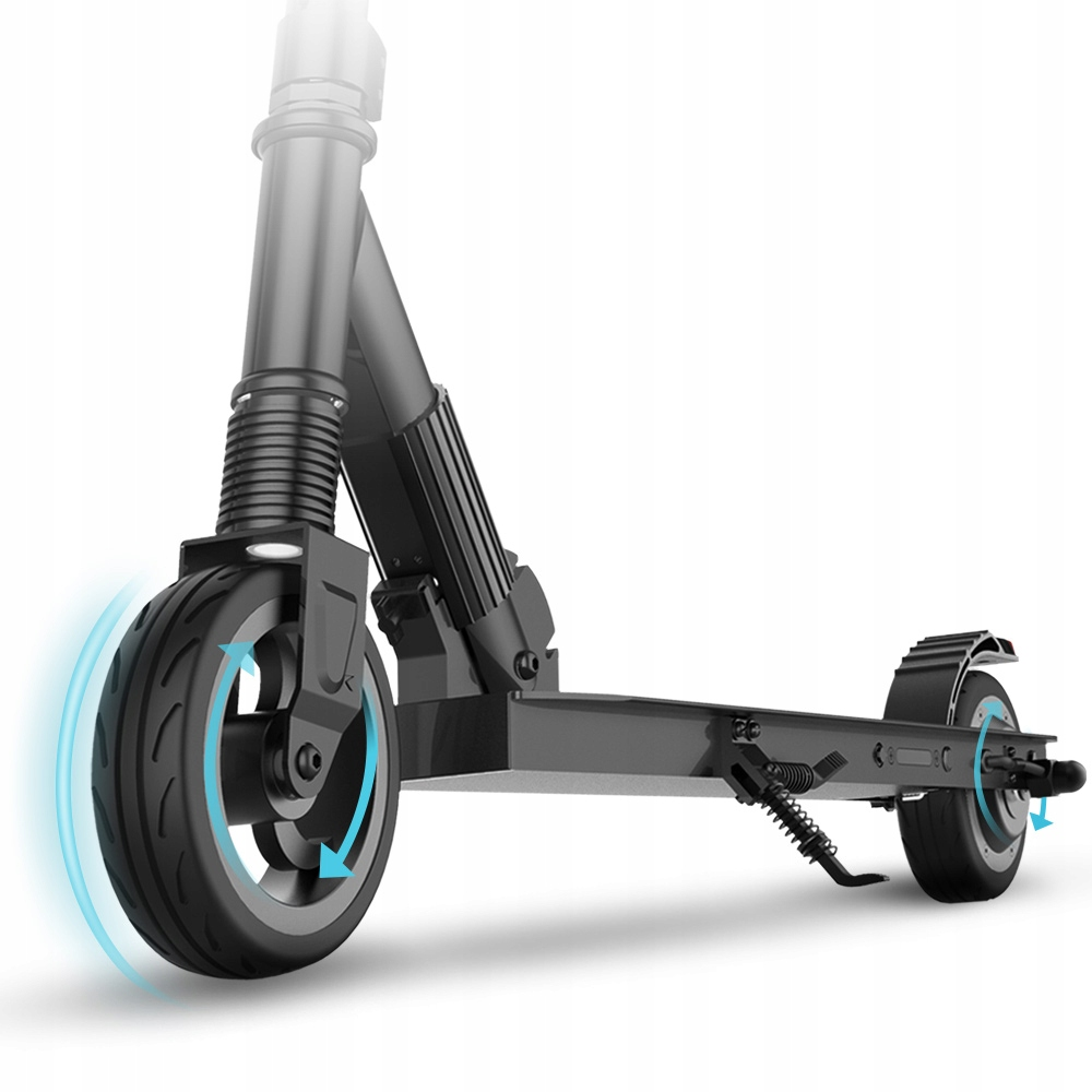 Электроскутер Megawheels Scooter Черный