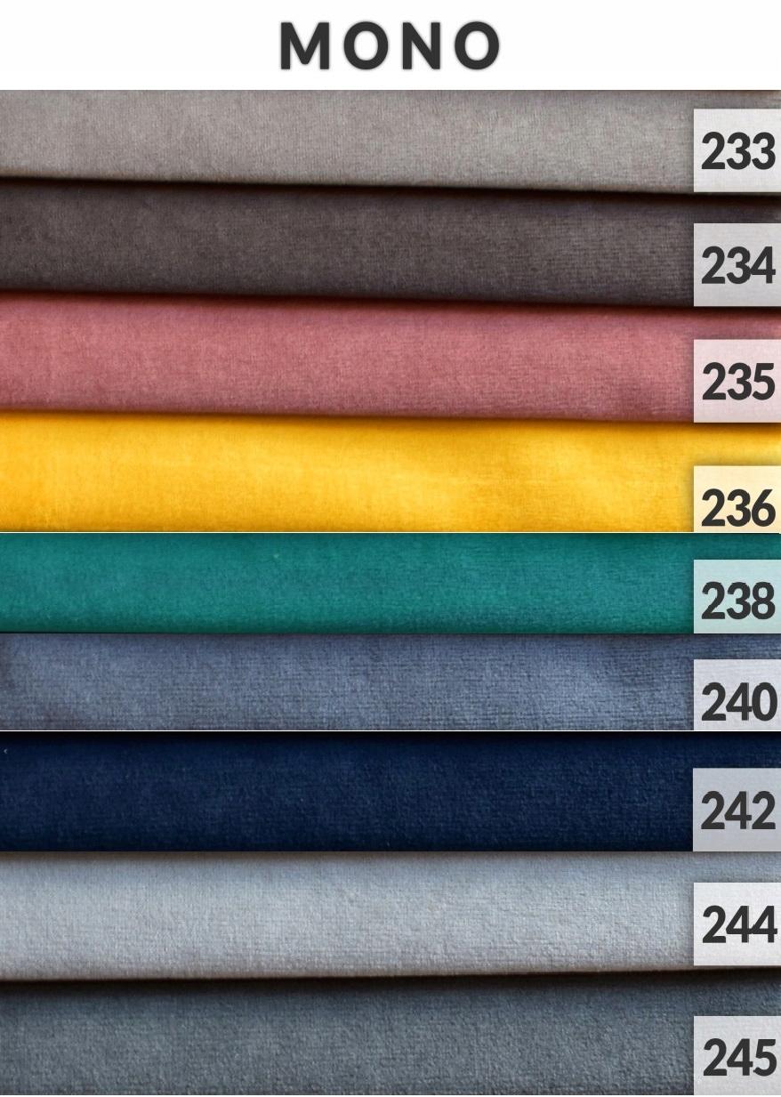 LUIS Sofa stilvolles Sofa f. Farben des Schlafbehälters Produktcode LN51