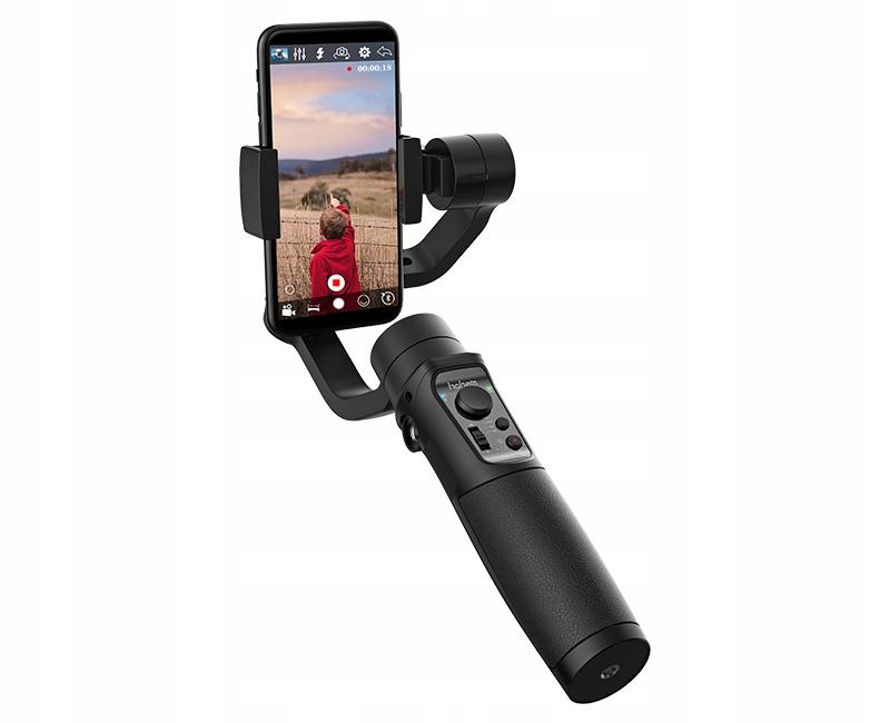 GIMBAL Hohem Mobile+ 3-os do Telefonu Smartfona