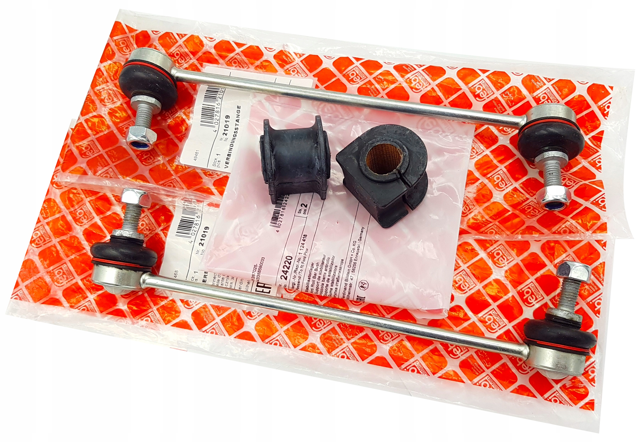 Соединитель резина стабилизатора x2 ford mondeo mk3 сзади