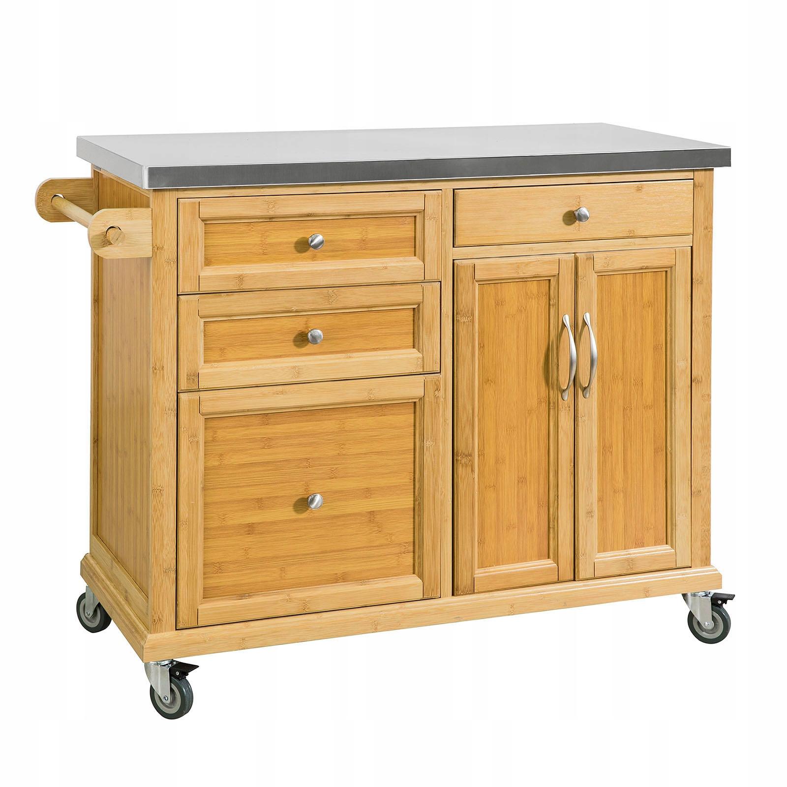 Кухонный остров на колесах Кухонный угловой шкаф