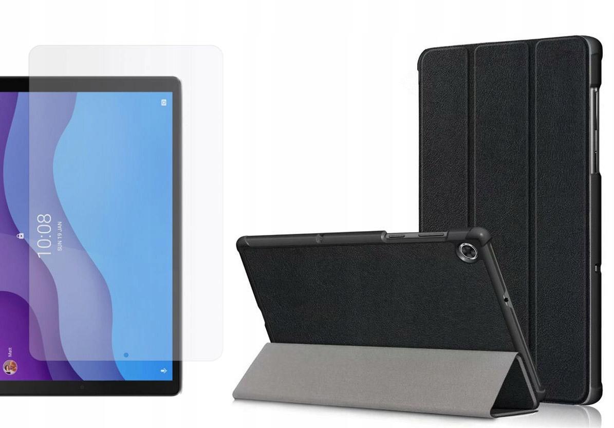 Etui do Lenovo Tab M10 2nd gen 10.1 Czarny + Szkło