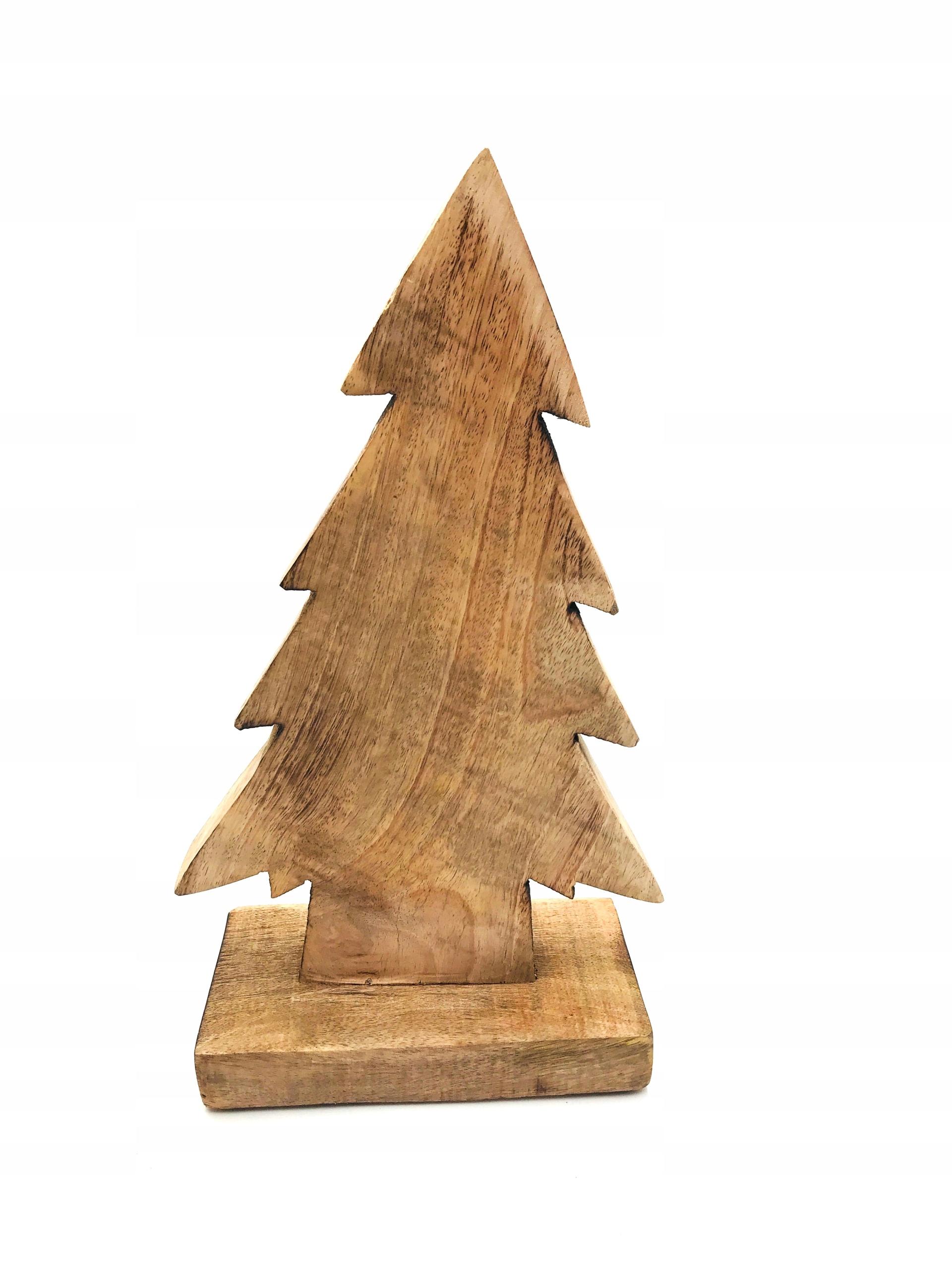 Figúrkový vianočný stromček z dreva Loft Retro