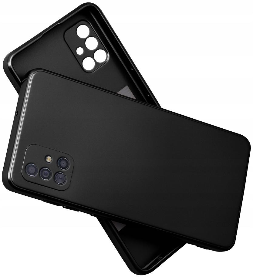 Etui SILIKON do Samsung Galaxy A51 CASE + SZKŁO 9H