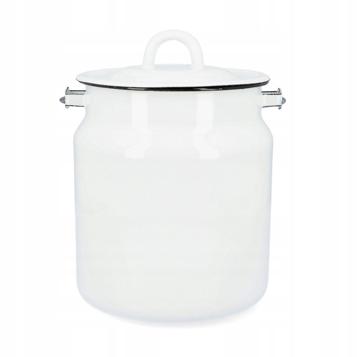 Kanister na mlieko Smaltovaná vintage kanka RETRO 3L