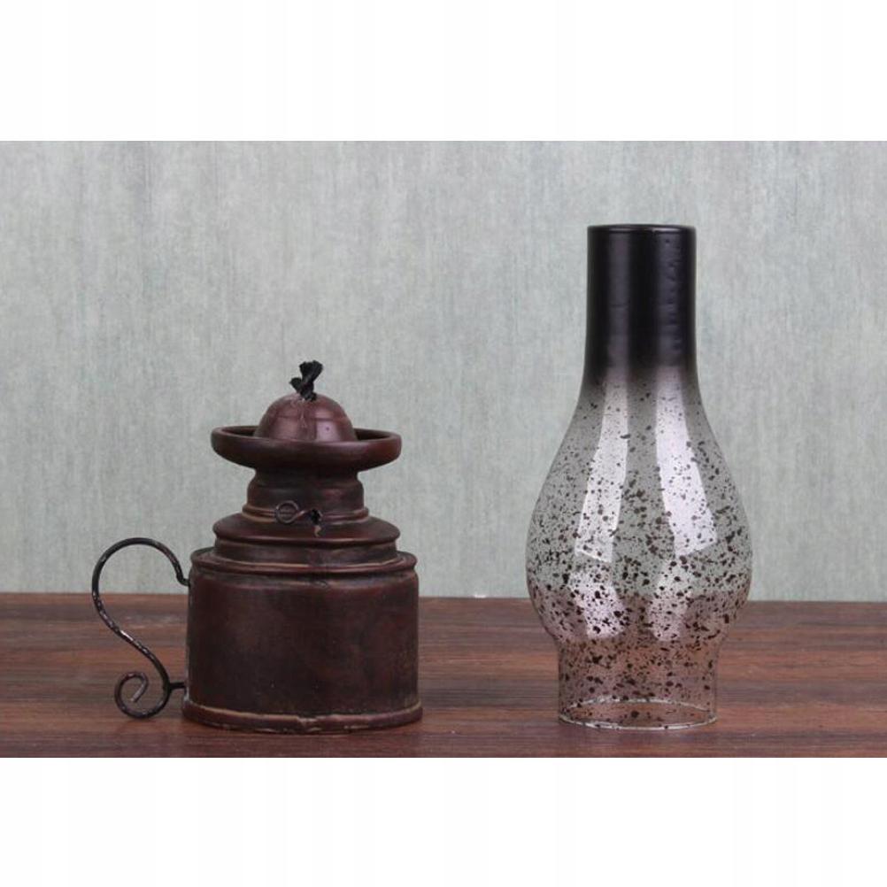 1PC nostalgická retro živicová petrolejová sviečka