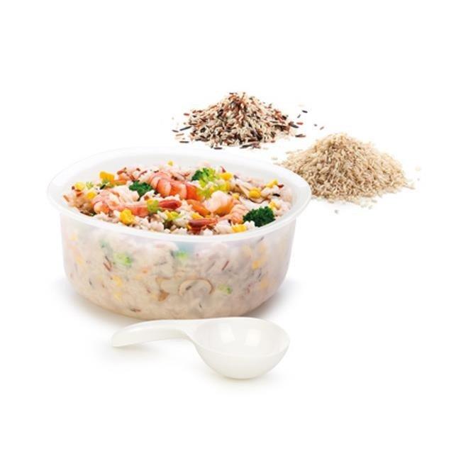 Garnek do gotowania ryżu w kuchence mikrofalowej