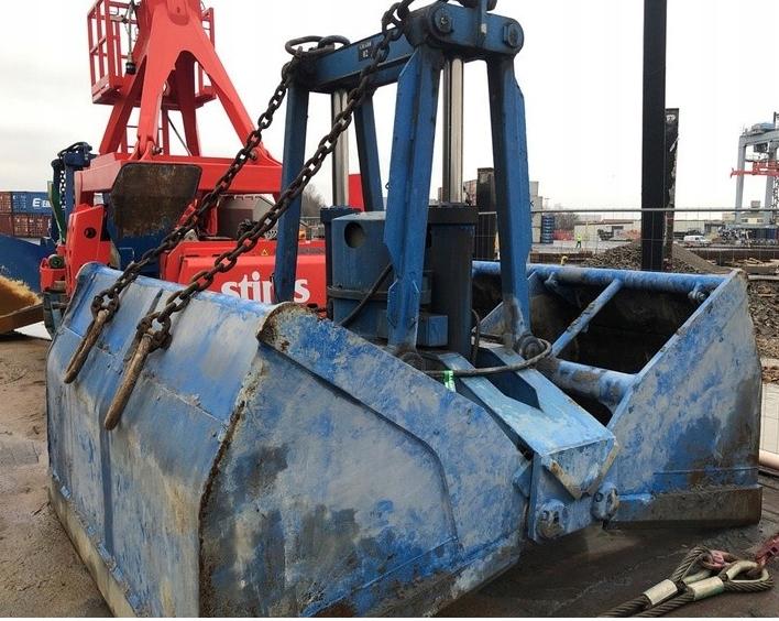 Chwytak hydrauliczny marki SMAG - 8m3