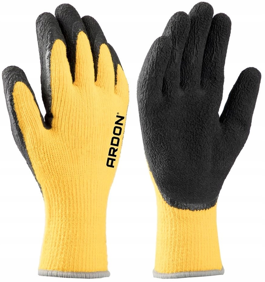 Рабочие перчатки, Зимние утепленные перчатки объемом 9 л