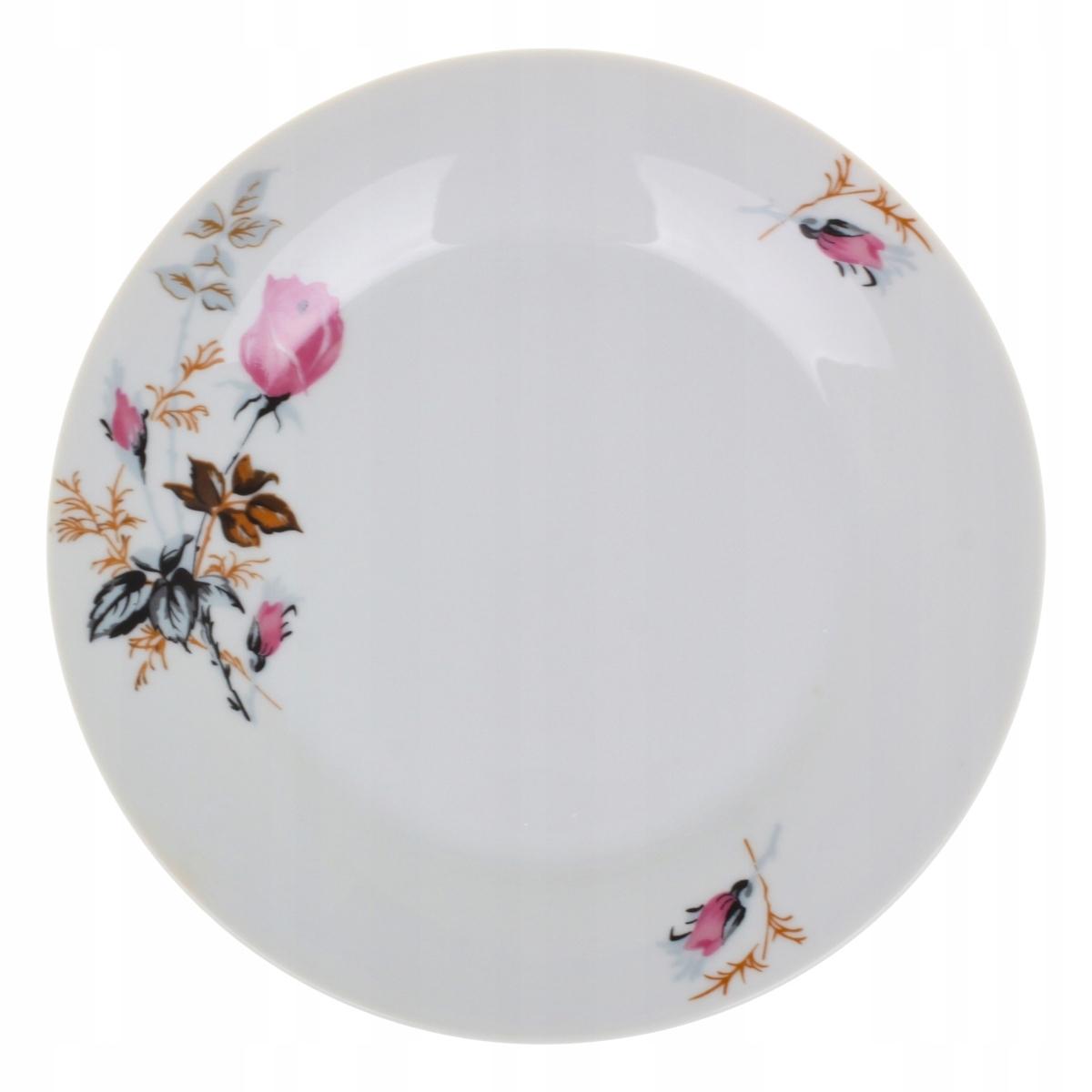 Тарелка обеденная 24 см, роза KOKO 3289