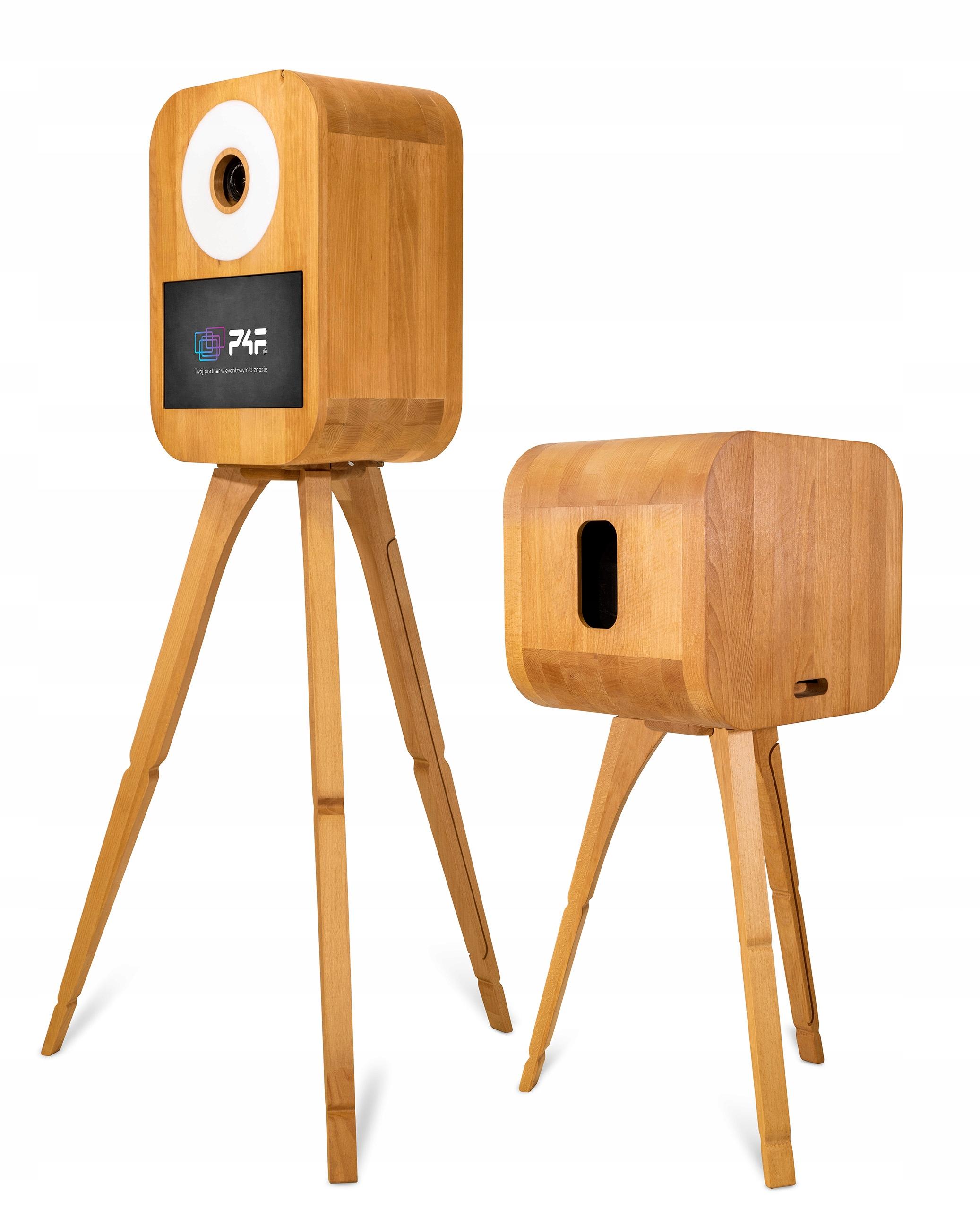 FOTOGRAFIA P4F RETRO S retro krabica vyrobená z dreva Full