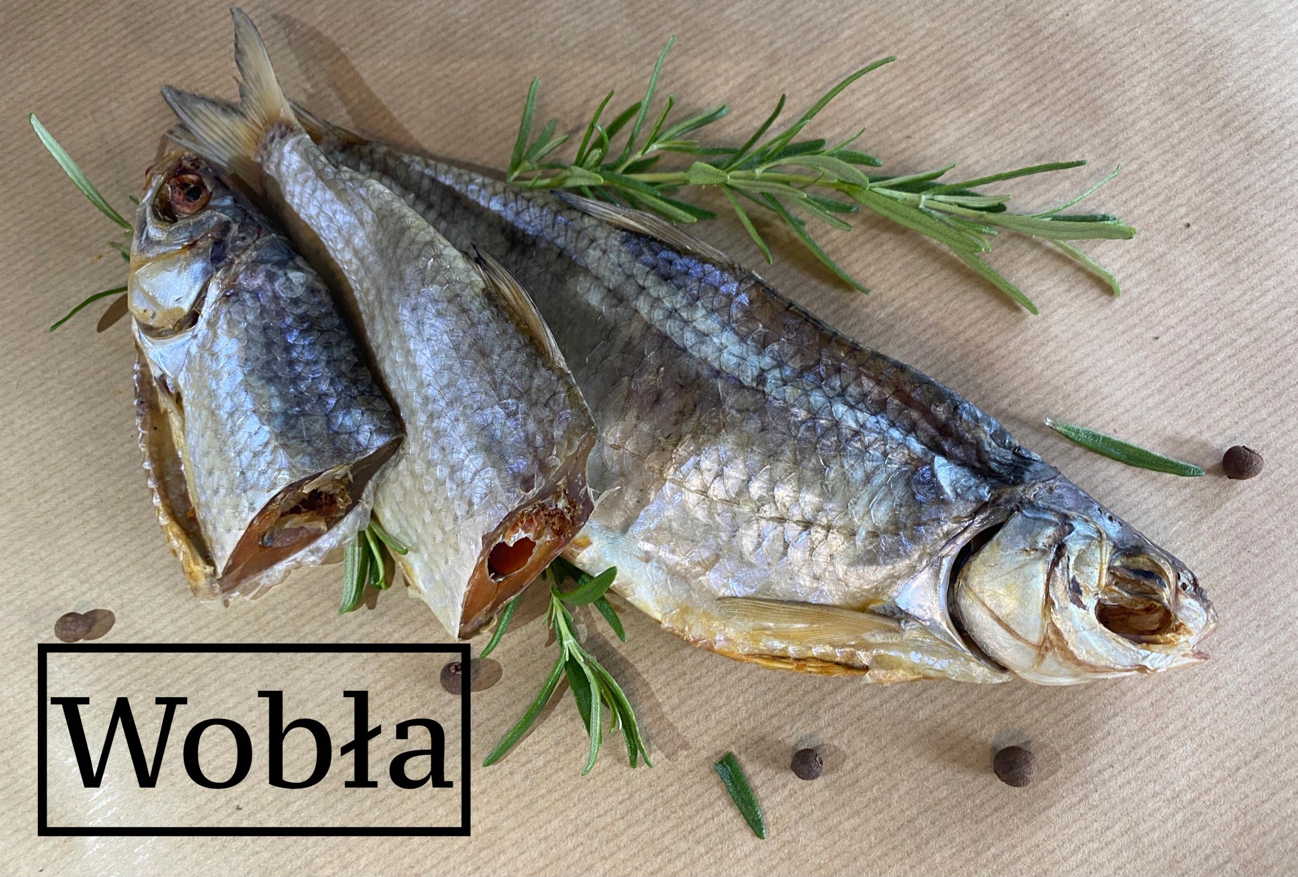Вобла (каспийская плотва) Вяленая рыба 1000 +/- 10г