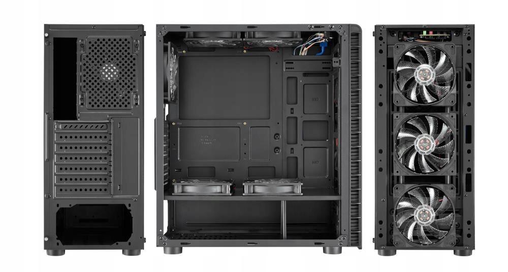 Obudowa PC ATX USB 3.0 LED Gaming Model F-12-2021