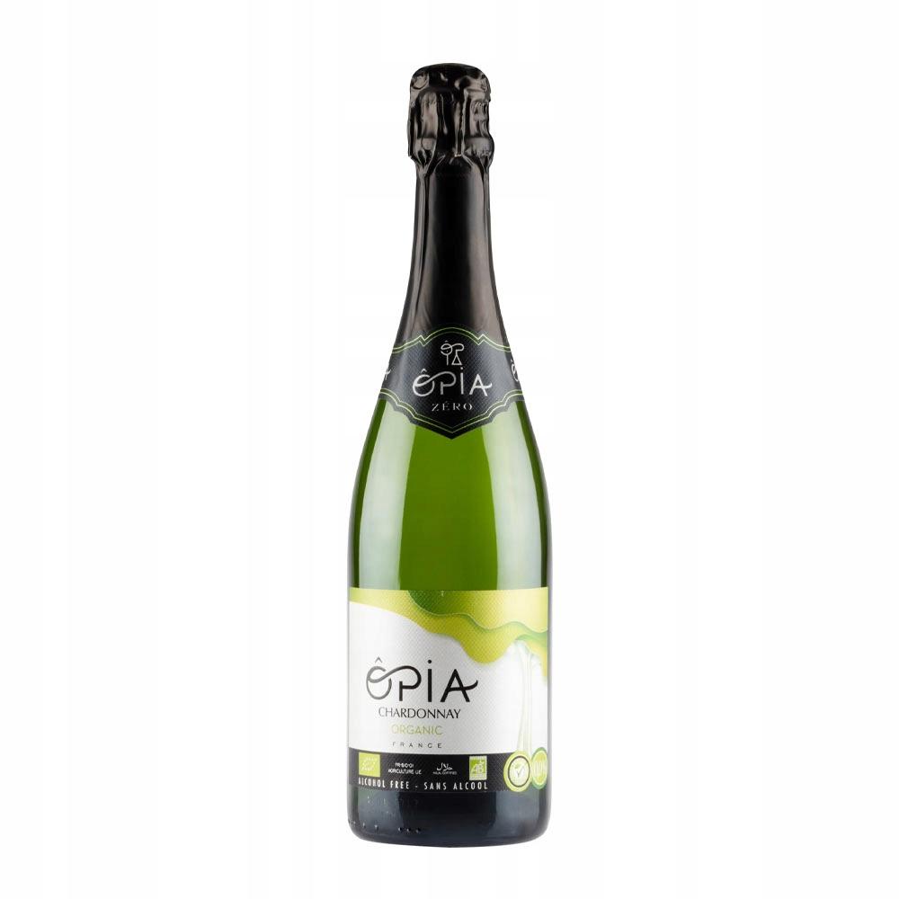 Игристое безалкогольное вино 0% BIO Chardonnay