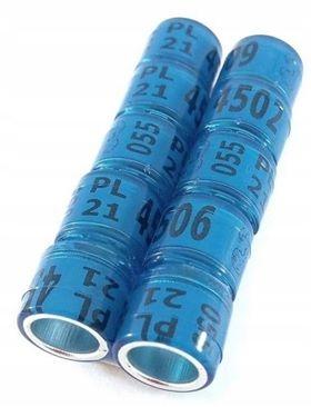 Обручальные кольца для почтовых голубей 2021 - 8 мм