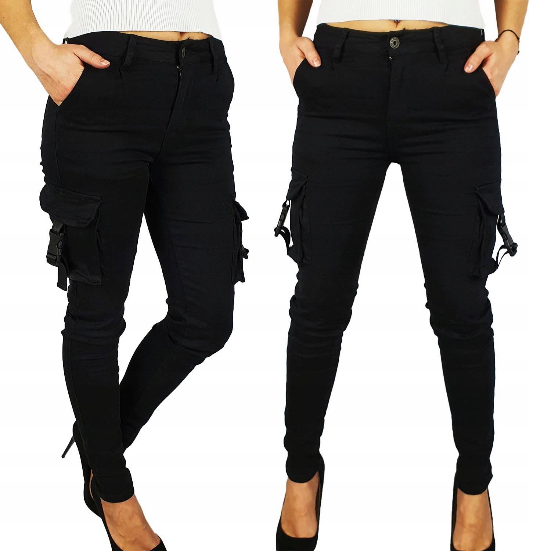 #damski - Spodnie - Młodzieżowe - Bojówki - Cargo