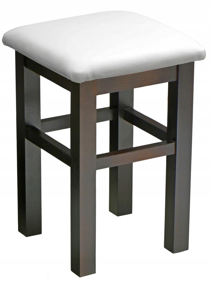 Taboret stołek hoker 55 cm wysoki kolory drewno
