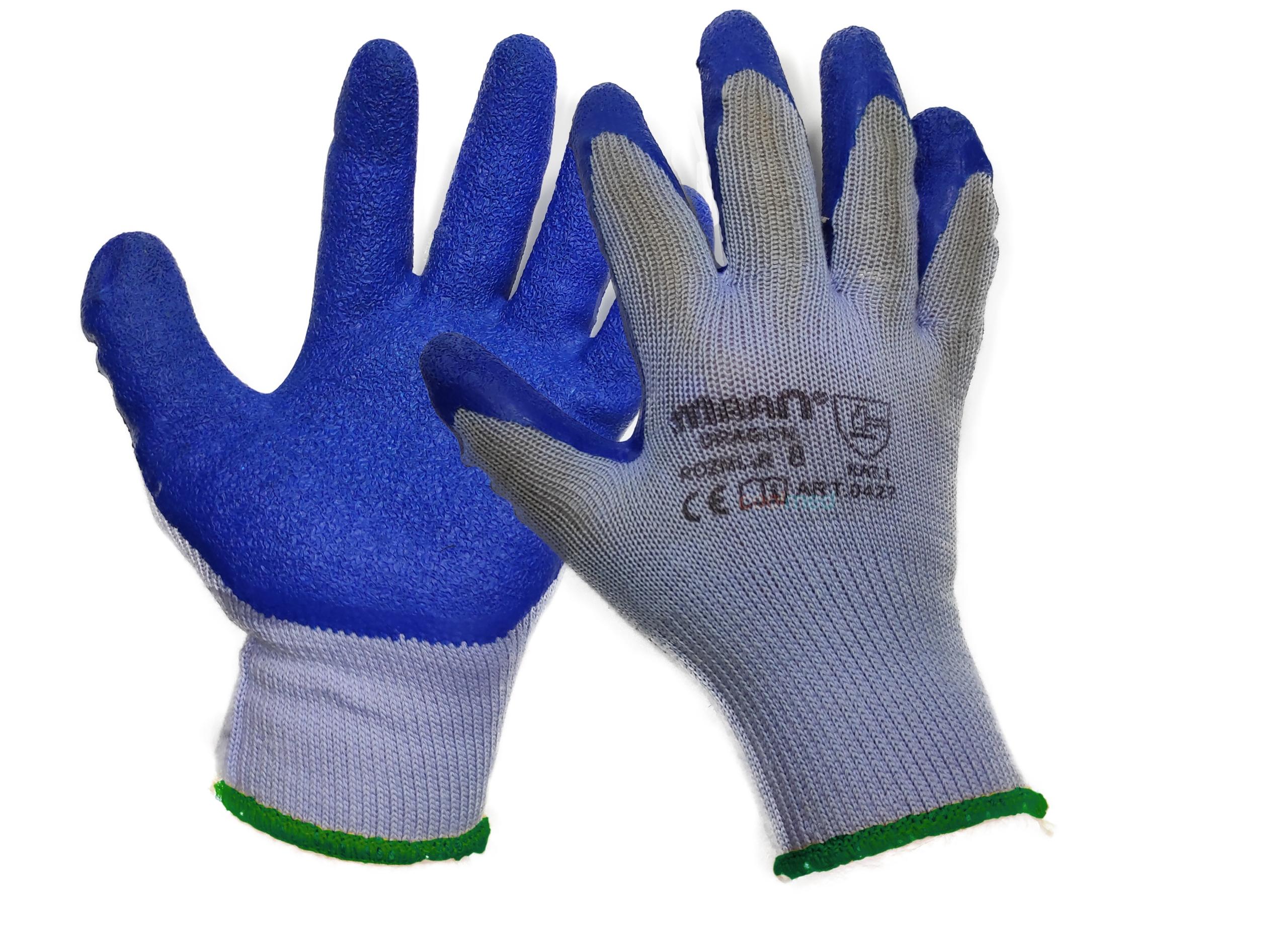Перчатки защитные латексные строительные 11