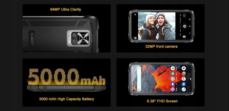 CUBOT KING KONG 7 8/128GB NFC LTE PANCERNY IP69K Kod producenta 6924136715284