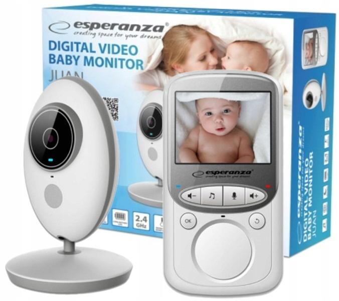 Elektroniczna Niania Kamera Na Żywo LCD Tryb Nocny