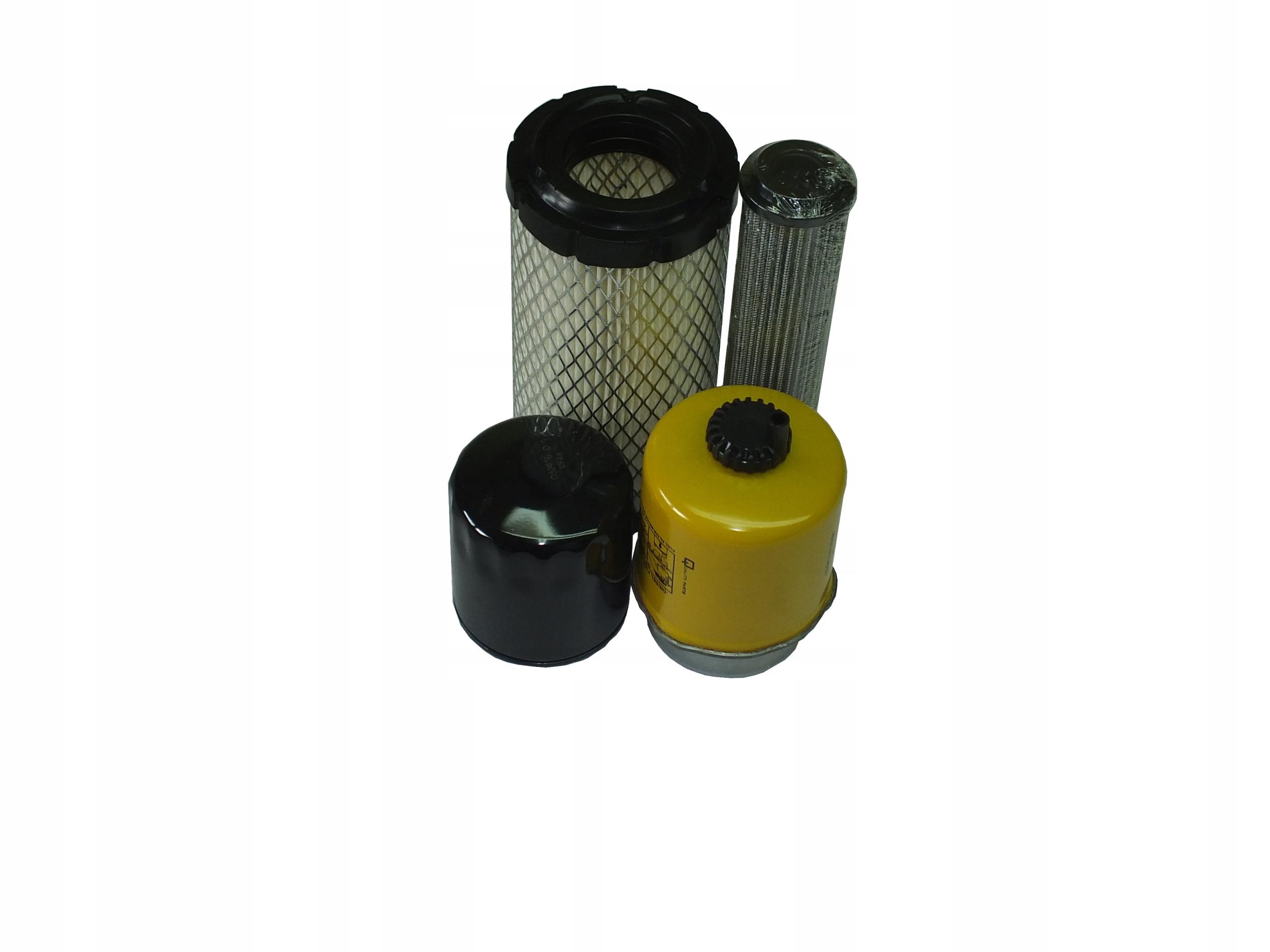 Filtry zestaw mini JCB 8014,8015,8016,8017,8018.