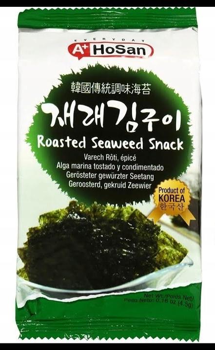 Снеки из водорослей Nori HOSAN Roasted Chips 2,4 г