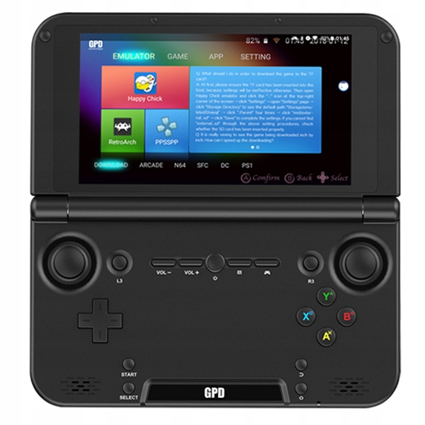 Item GAME CONSOLE GPD XD, PLUS 4 GB/32 GB ANDROID 7.0
