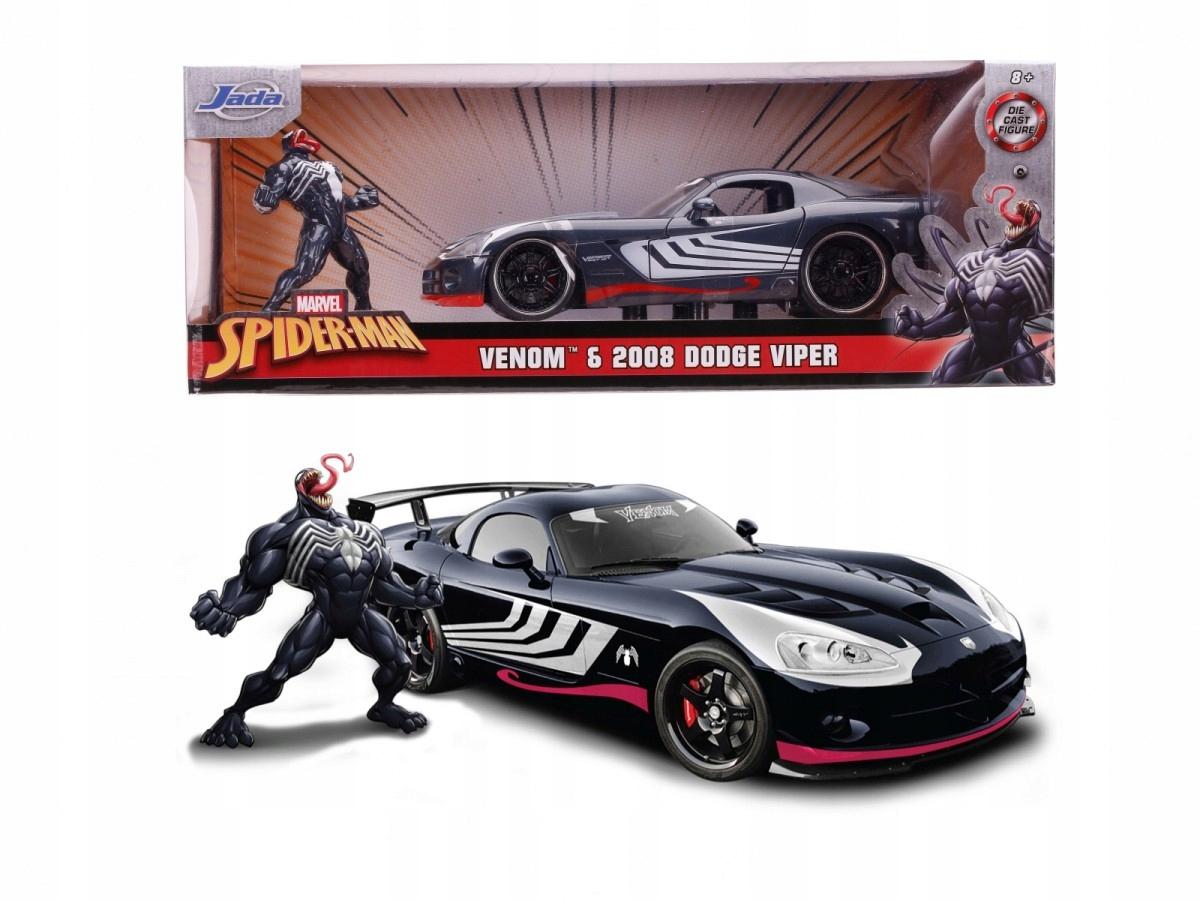 Vozidlo a akčná figúrka Marvel Venom 2008 Dodge Viper 1