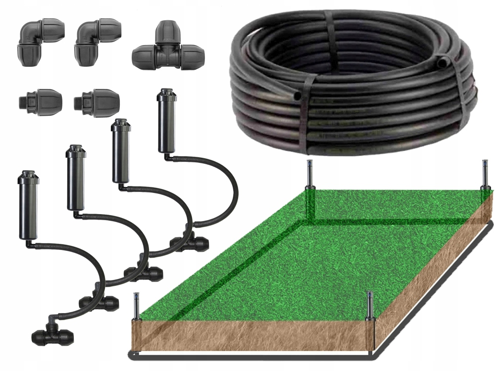 Универсальный комплект для полива сада 40 - 250 м2