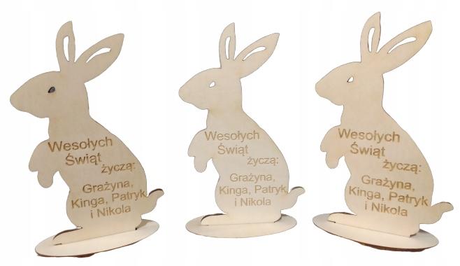 Veľkonočný zajačik s logom pozdravy