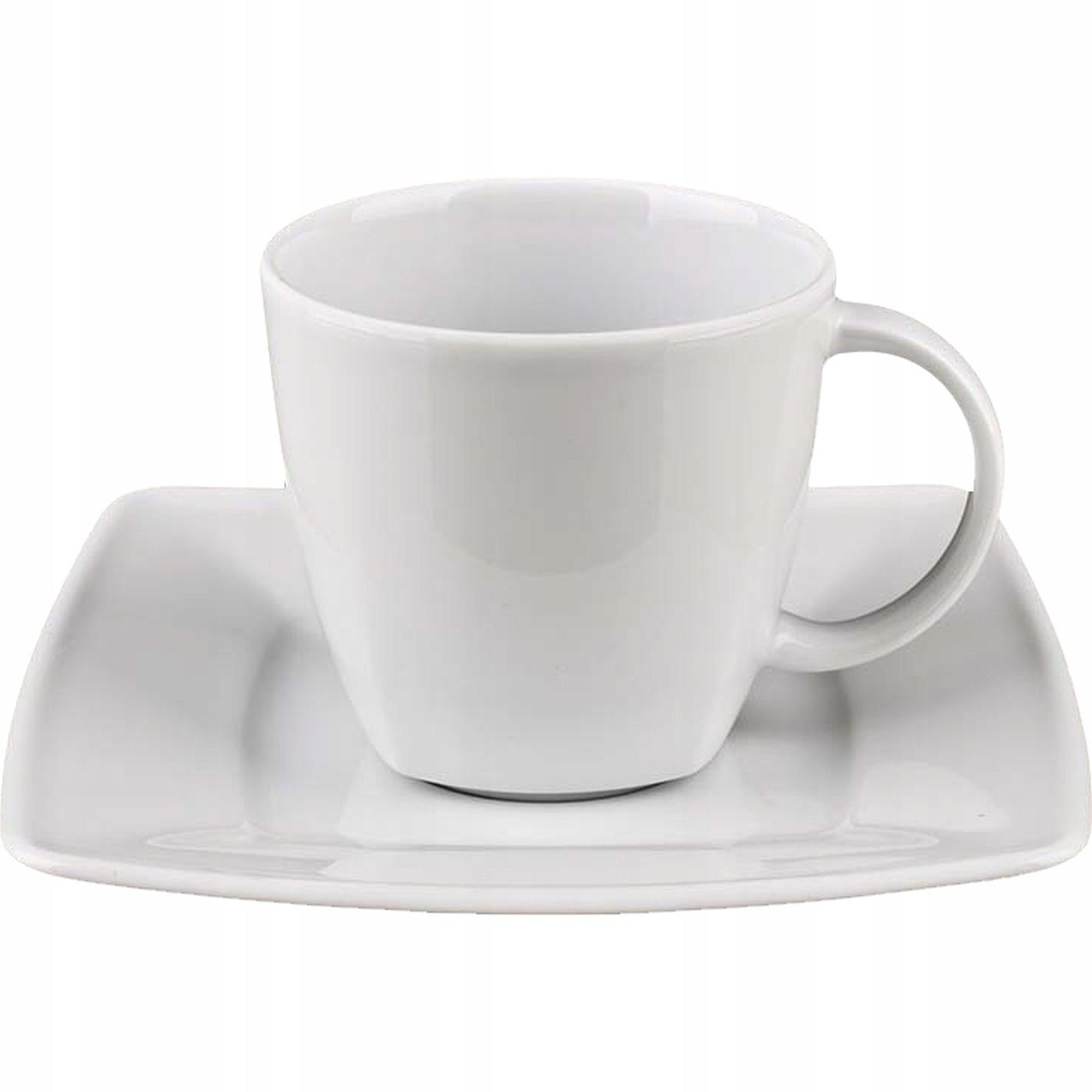 Фарфоровая чашка и блюдце Lubiana Victoria 250 мл