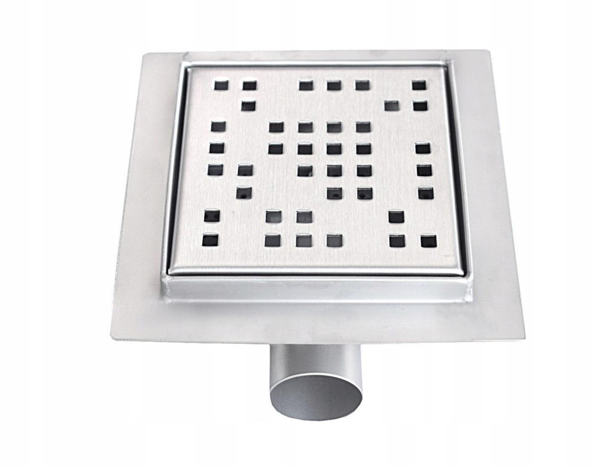 Štvorcový odtokový sprchový odtok 12x12