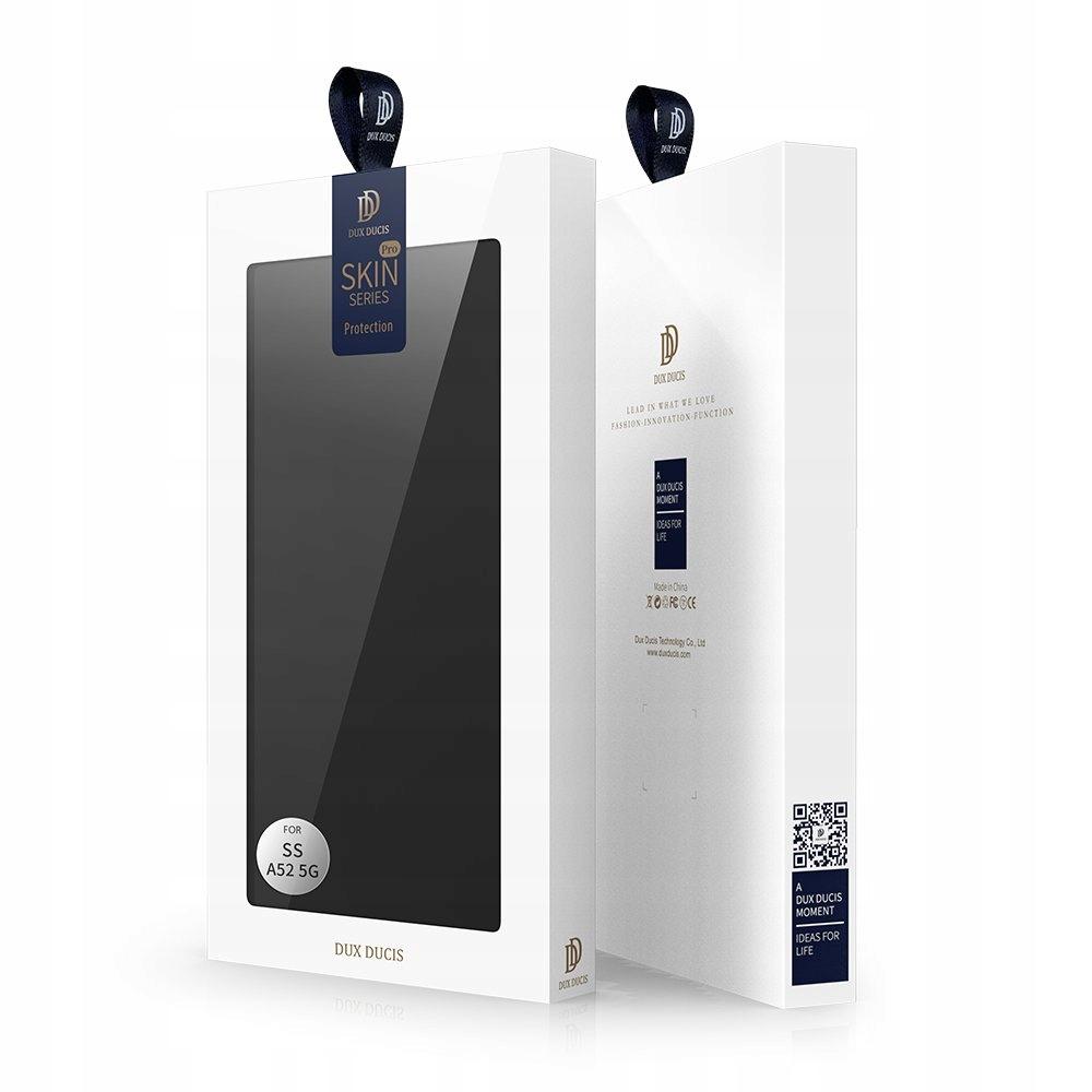 Etui Dux Ducis + szkło do Samsung Galaxy A52 Materiał skóra ekologiczna