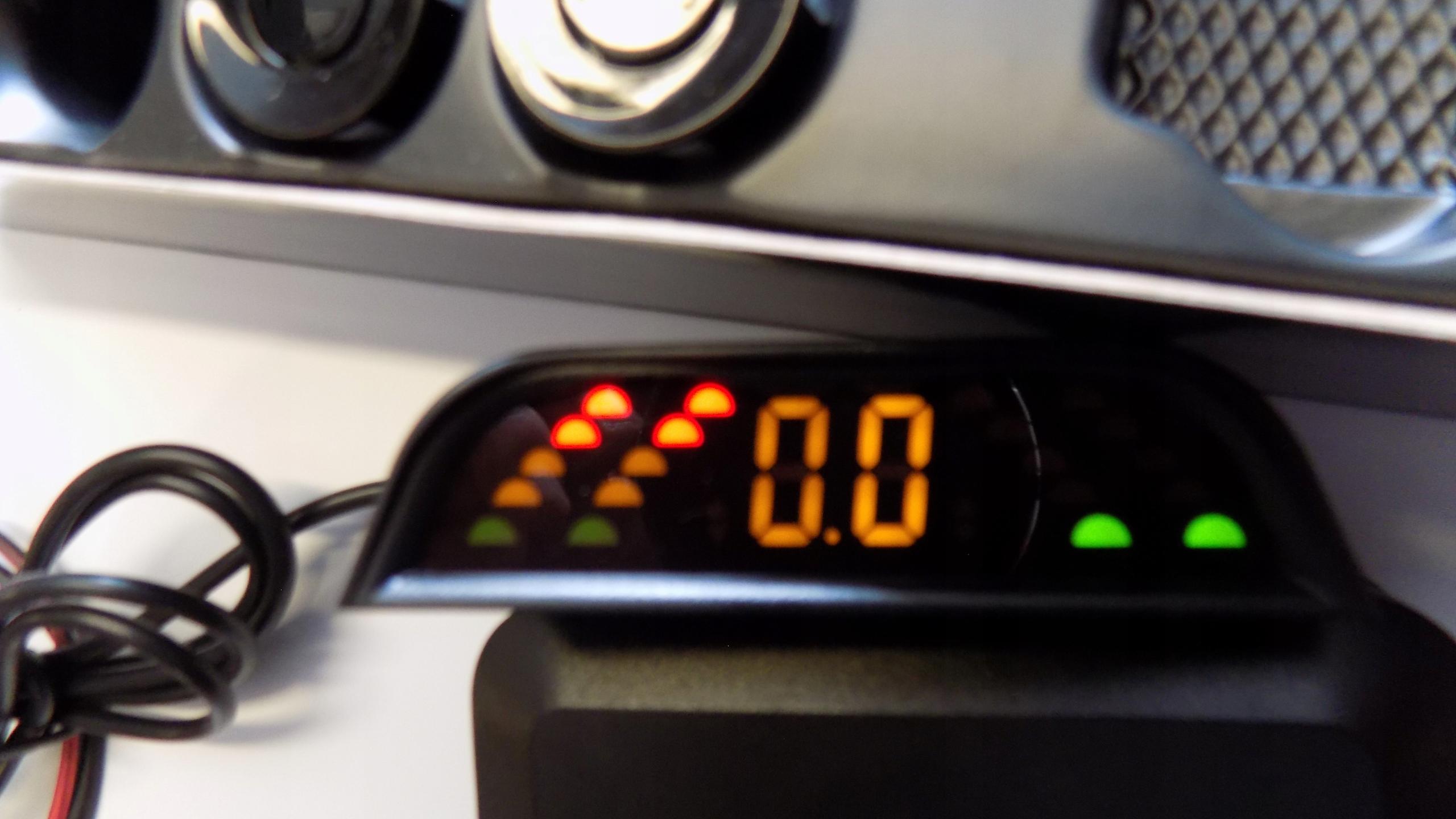 датчик парковки wi-fi жк 4 извещатели