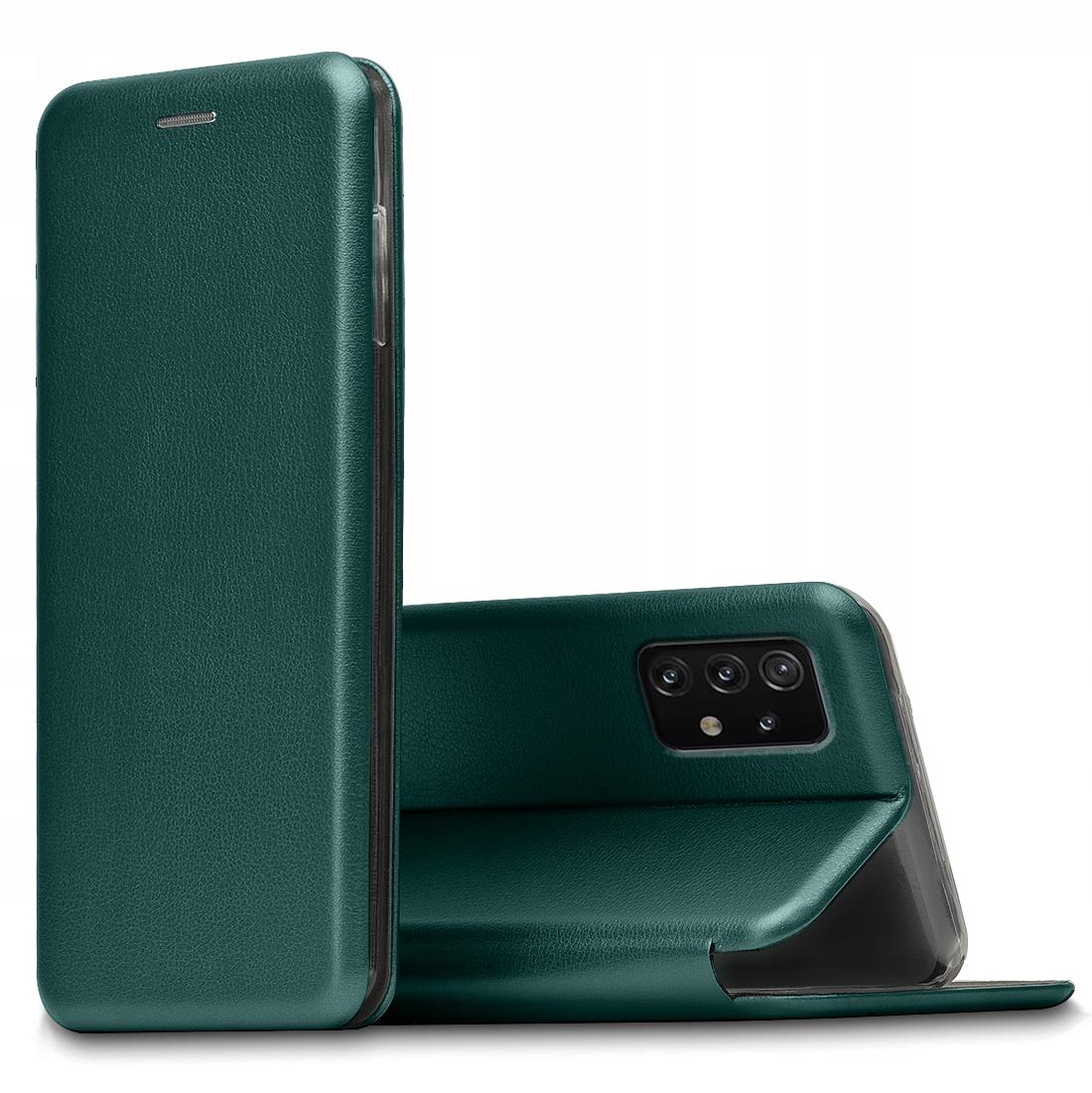 Etui do Samsung Galaxy A52 5G Skórzane Case +Szkło