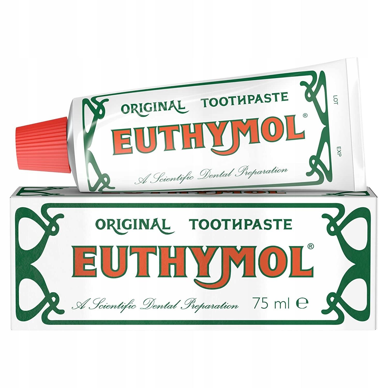 Euthymol антибактериальная зубная паста без фтора