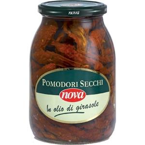 Włoskie suszone pomidory w oleju NOVA 980g