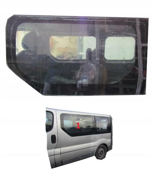 стекло боковая karoseryjną слева попасть 01-13r