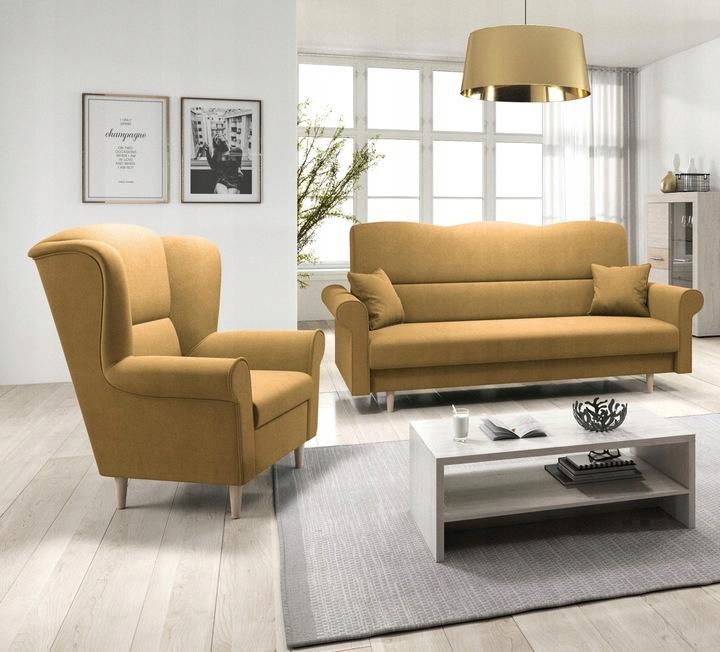 Zestaw wypoczynkowy LOFT 3+1 - kanapa i fotel