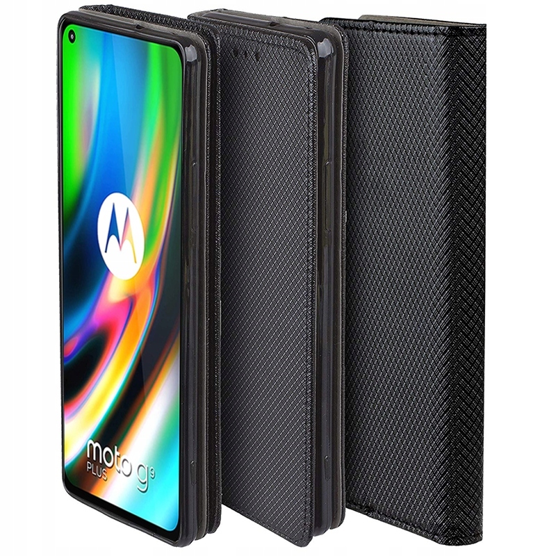 Etui do Motorola Moto G9 Plus Case Magnet + Szkło Dedykowany model Moto G9 Plus