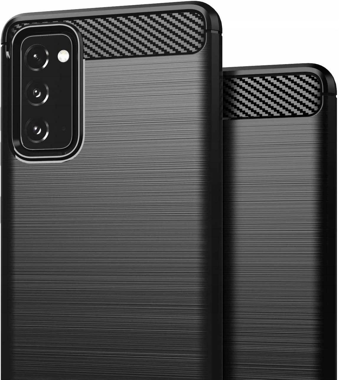 ETUI do Samsung Galaxy S20 FE KARBON CASE + SZKŁO Kod producenta G8A