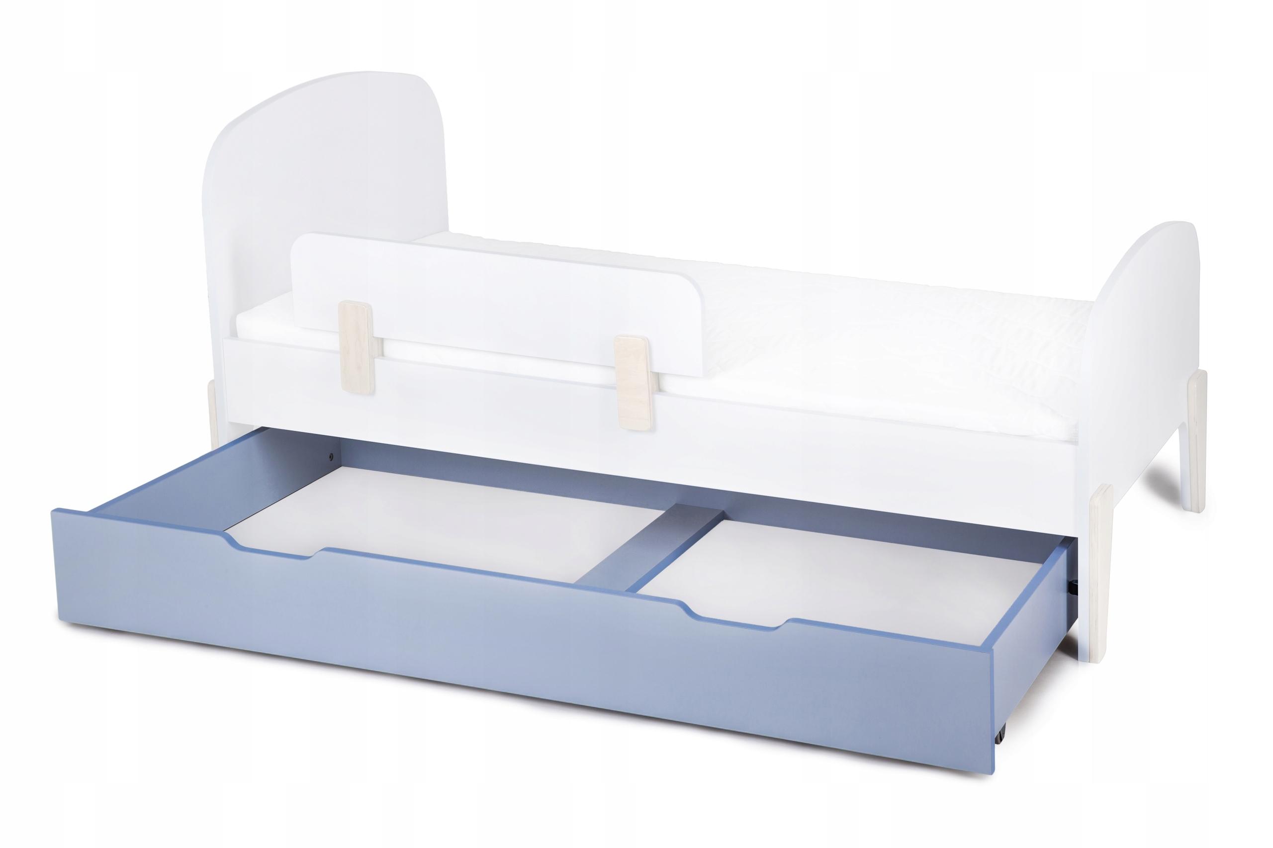 Zásuvka na kolieskach pre RETRO modré lôžko 80x160