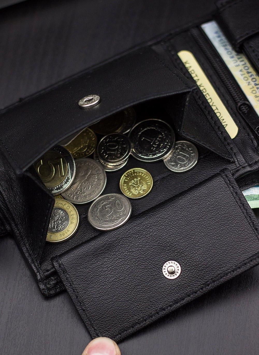 STEVENS GIFT SET Wallet Men's Leather Belt Length without buckle 100 cm