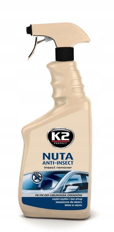K2 НОТА ANTI-INSECT средство ДЛЯ УДАЛЕНИЯ НАСЕКОМЫХ и СМОЛЫ