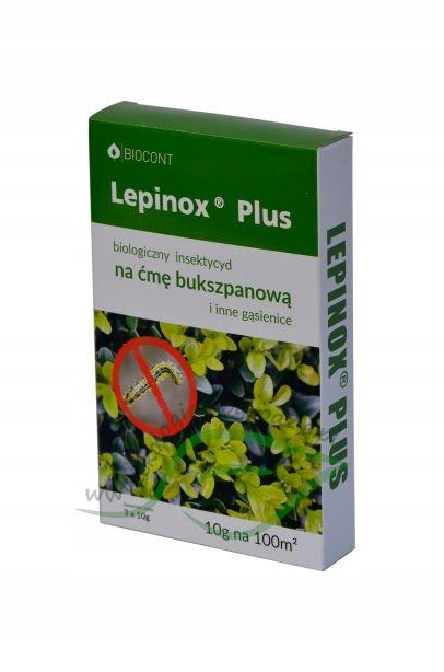 Lepinox ПЛЮС 3 x 10g на гусеницы моли bukszpanowej