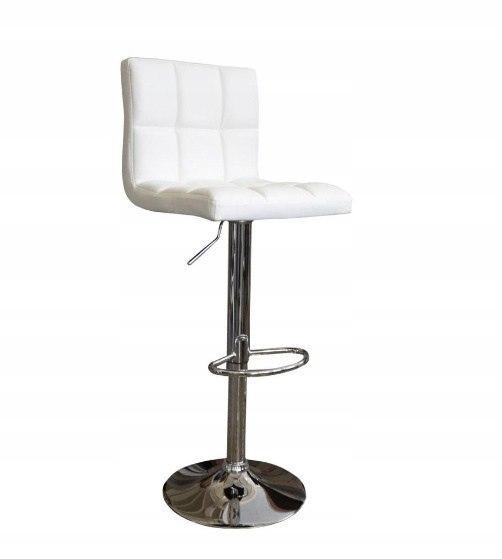 Krzesło barowe ARA biały hoker eko skóra hoker opa