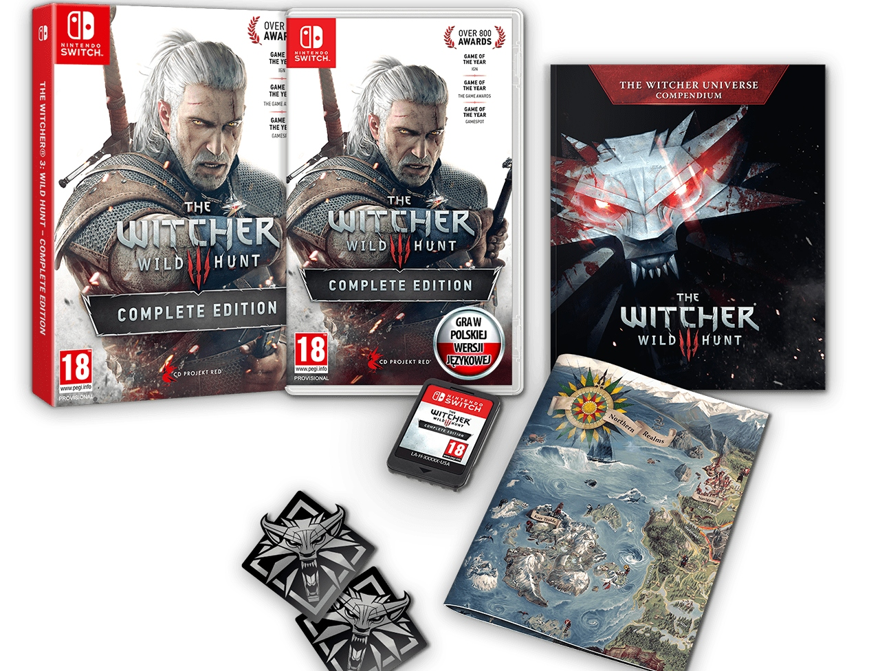 Item The Witcher 3 WILD HUNT Edition Full PL NS Switch