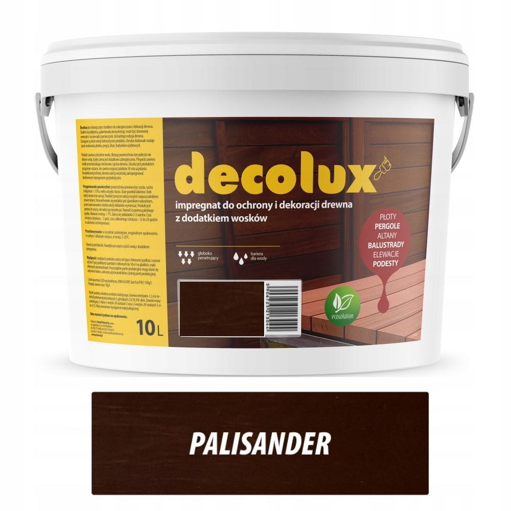 DECOLUX IMPREGNAT DO DREWNA WOSK 10L PALISANDER